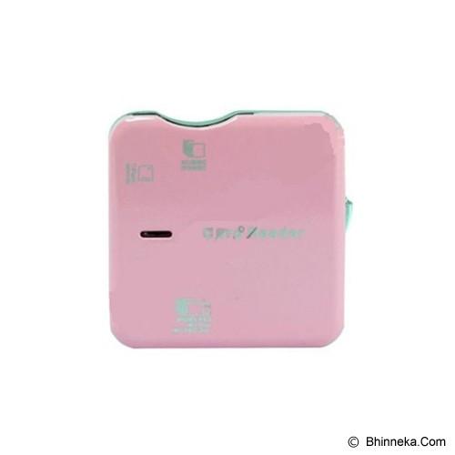 HAVIT All In 1 Card Reader [HV-C04] - Pink - Memory Card Reader External